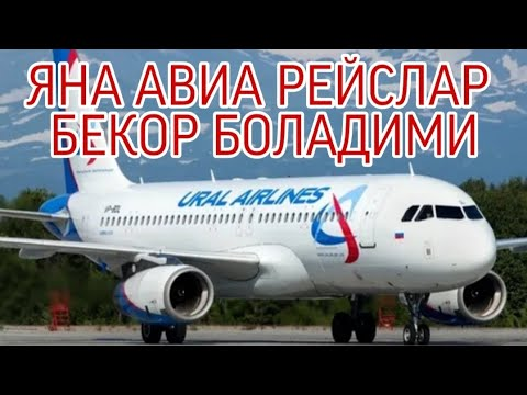ДАХШАТ  20-ИЮНДАН  АВИА  РЕЙСЛАР  БЕКОРМИ  БОЛАДИМИ