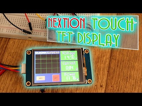 Nextion Touch TFT Display Examples | Digital Power Supply - Part 1