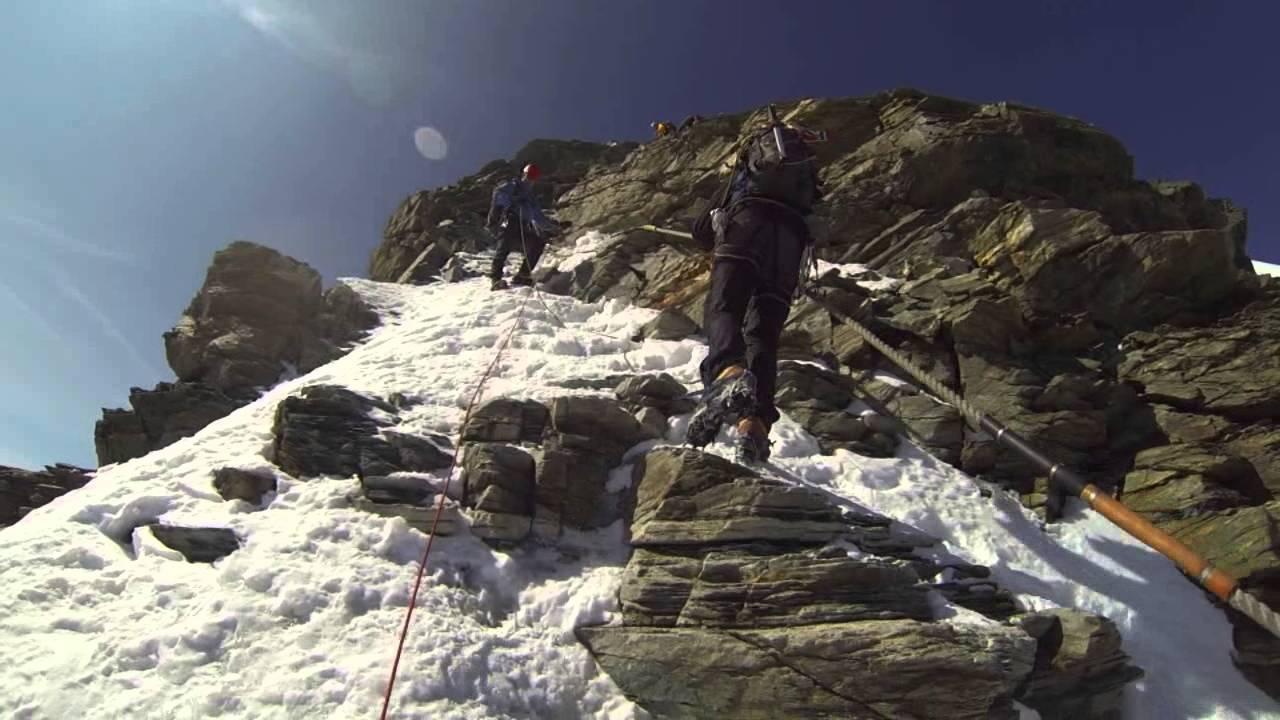 Climbing the Matterhorn Hornligrat Route 2013 - YouTube