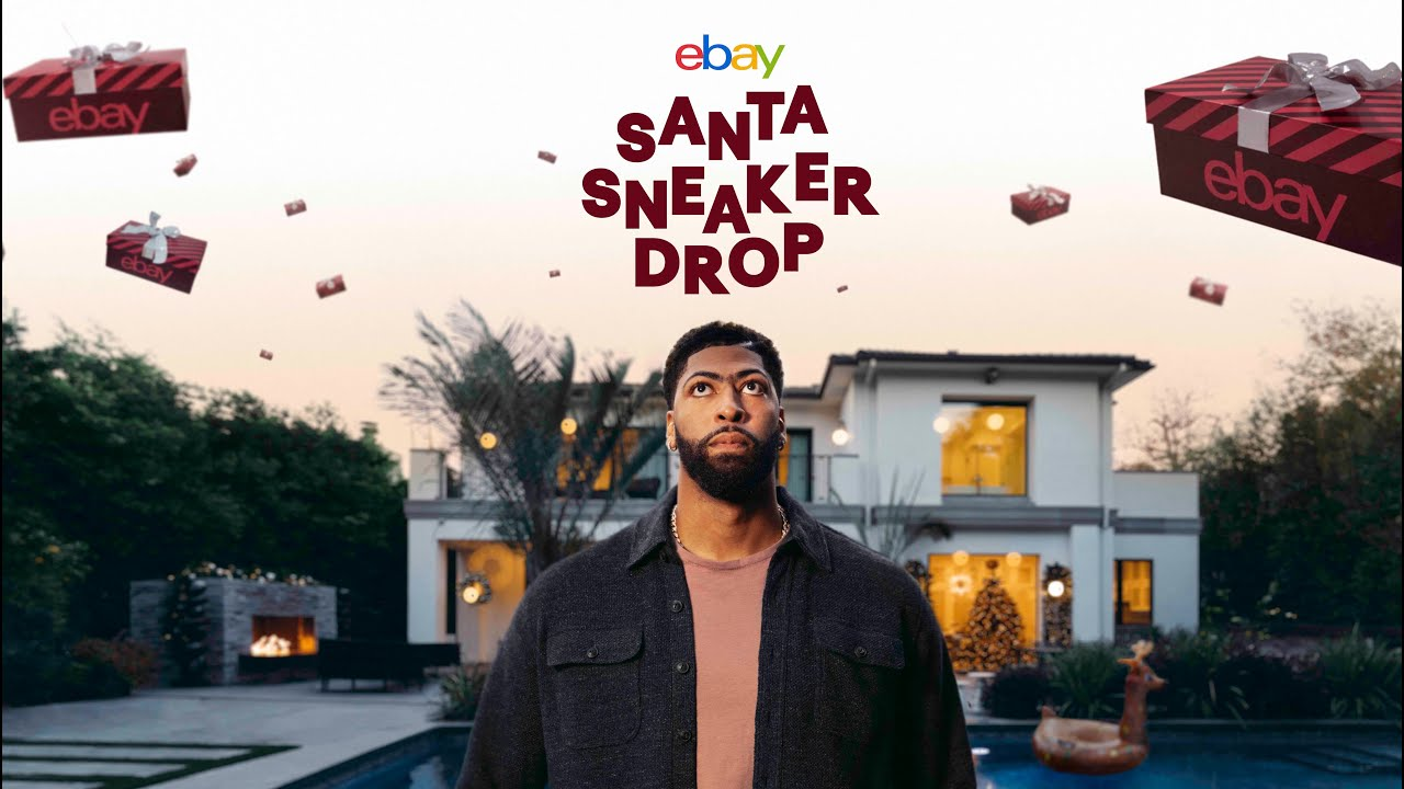 eBay presents The Sneaker Santa Drop with Anthony Davis