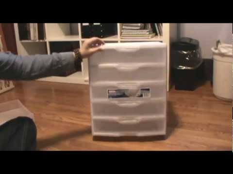 How to hack a Sterilite drawer unit