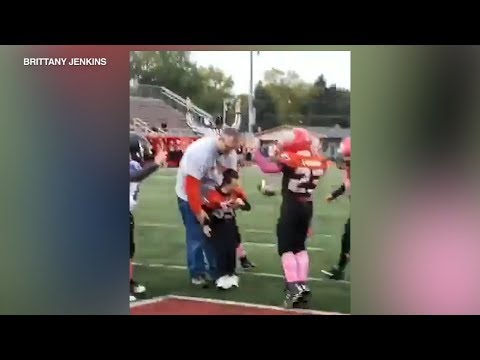 None - Youth Football Team Makes Boy With Cerebral Palsy Honorary Captain