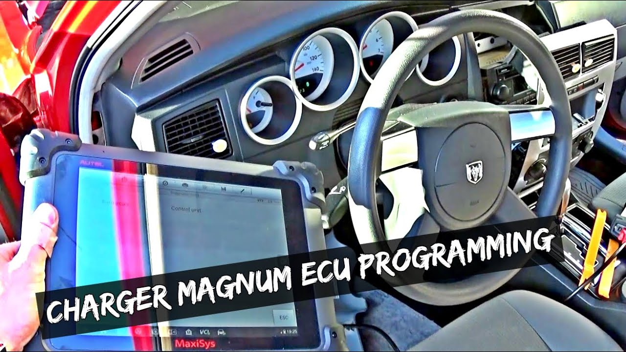 how to program engine computer ecu dodge charger dodge magnum chrysler 300 auto repair guys [ 1280 x 720 Pixel ]