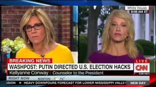 Kellyanne Conway can't say what Trump is doing to prevent future Russian interference