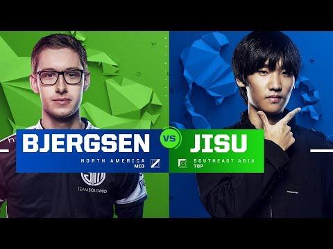 Bjergsen vs. Jisu   Semifinals   1v1 Tournament   2017 All-Star Event
