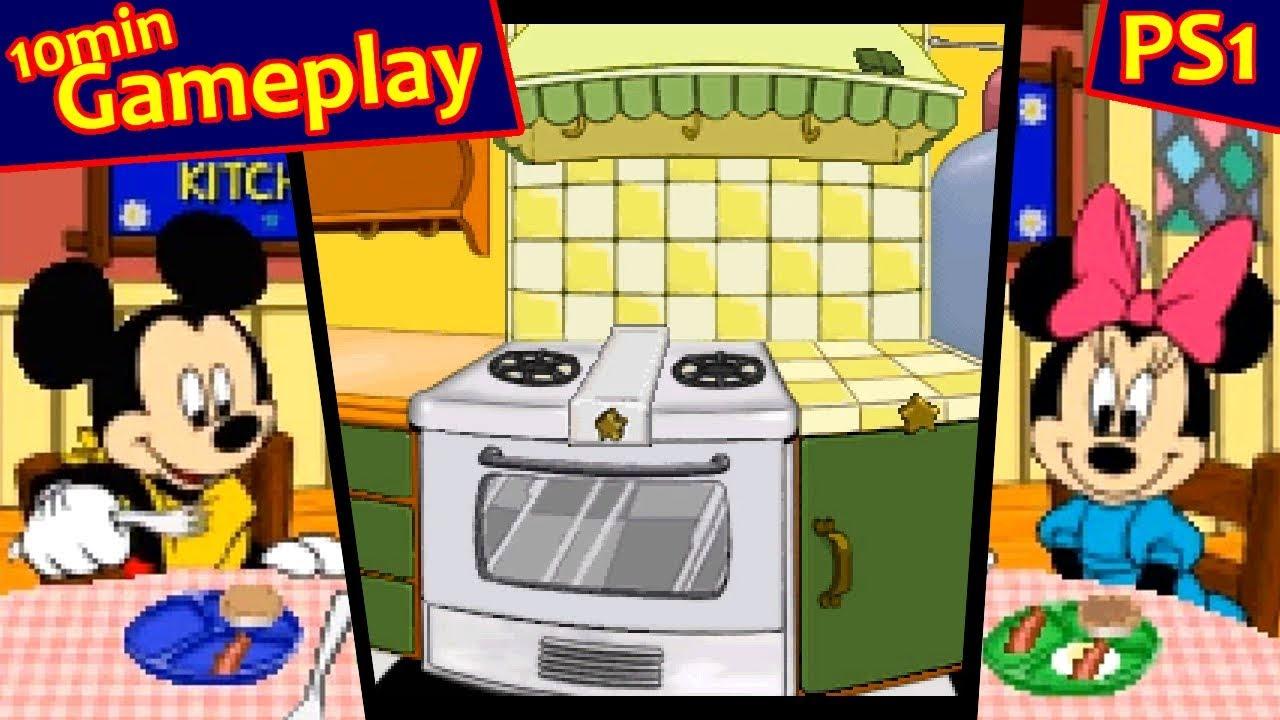 my disney kitchen ps1 60fps youtube - My Disney Kitchen