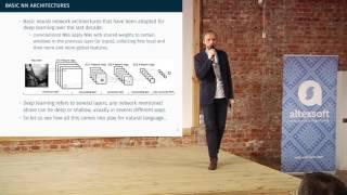 Глубокое обучение для обработки естественного языка