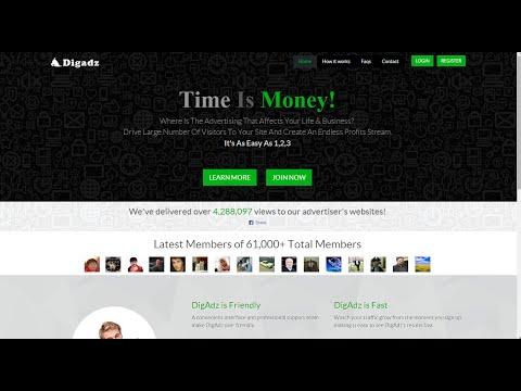digadz новый вид заработка в интернетеиз YouTube · Длительность: 10 мин6 с