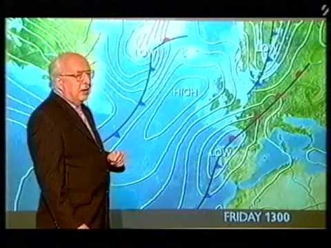 BBC Weather 6th October 2004: Farewell Michael Fish