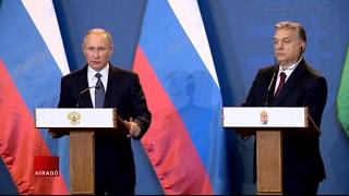 Összefoglaló Putyin budapesti látogatásáról