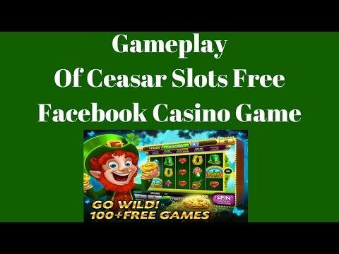 Gameplay Of Ceasar Slots Free Facebook Casino Game