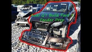 2013 Audi Q7 Copart Build Part 3
