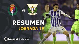 Resumen de Real Valladolid vs CD Leganés (2-2)