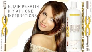 Organic Brazilian Keratin Treatment Blowout for any hair type curly hair
