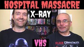 VHS Hospital Massacre 1981 X-Ray Blu-ray Horror Movie Video Review ! Barbi Benton