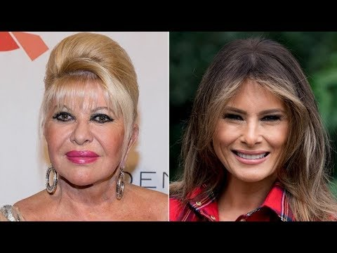 The First Lady & Trump's Ex-Wife Are Publicly Feuding