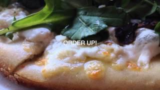Arugula Truffle Mushroom Pizza