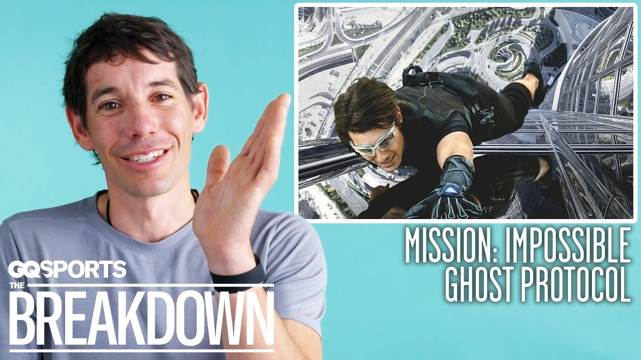 Alex Honnold Breaks Down Climbing Scenes From Movies & TV | GQ Sports