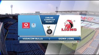 Currie Cup Premier Division   Vodacom Bulls v Sigma Lions   Highlights