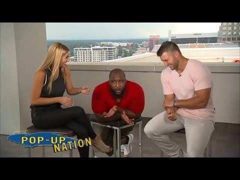 Tim Tebow and the SEC crew talk everything but football | Pop-Up Nation | ESPN