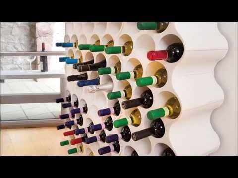 koziol set up bottle rack 3596525 youtube. Black Bedroom Furniture Sets. Home Design Ideas