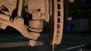 Замена передней нижней шаровой опоры на Тойота Марк 2 90 кузолв