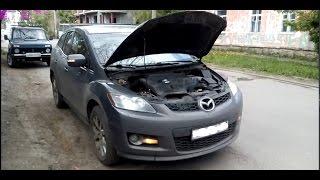 Двигатель после 7000км на  Лукойл GENESIS на Mazda CX-7(ТО,разгон,расход)