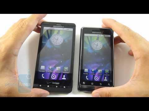 Motorola DROID 2 vs Motorola DROID X