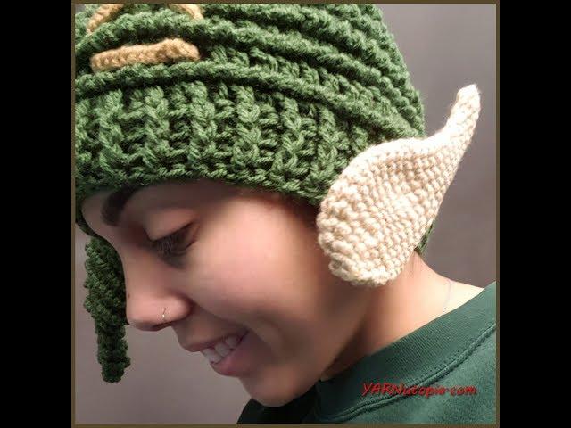 Crochet Tutorial  Elf Ears - YARNutopia by Nadia Fuad YARNutopia by Nadia  Fuad 6c294caca1d