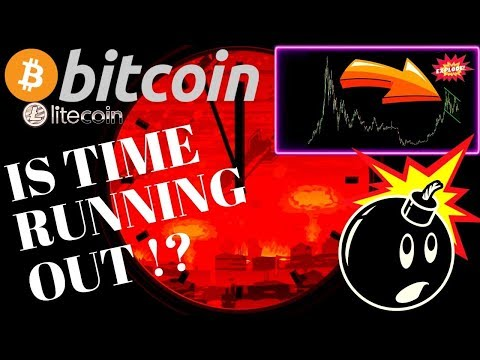 ⏲TIME RUNNING OUT FOR BITCOIN and LITECOIN??⏲btc ltc price prediction, analysis, news, trading