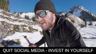 QUIT SOCIAL MEDIA & INVEST IN YOURSELF | The Landscape Photography Journals S2E5