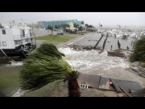 Huracán Michael destroza la costa de Florida, EE.UU. Octubre 2018 - World Nature!