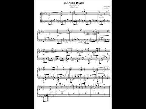 Jeanne's Death - Modigliani OST (piano solo)