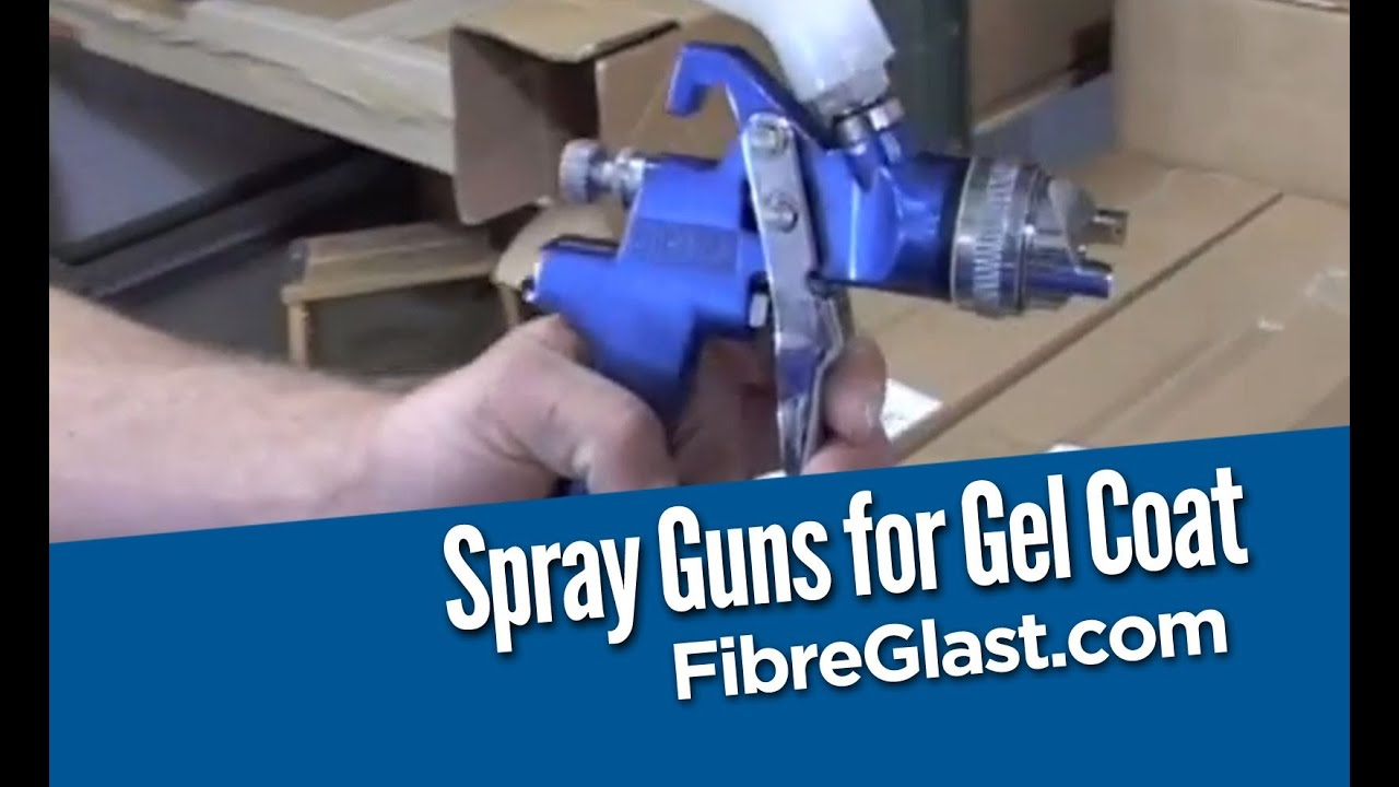spray guns for gel coat youtube. Black Bedroom Furniture Sets. Home Design Ideas