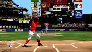 MLB 2K13 HomeRun DERBY gameplay