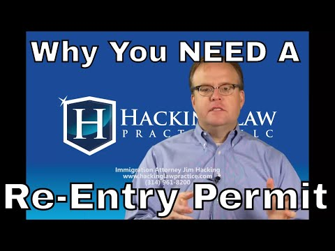 Re-entry permit and why green card holders HAVE to get one before long visit overseas