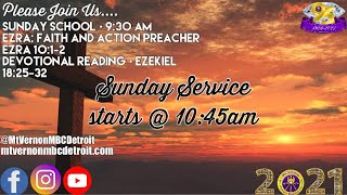"""Sunday Service - """"Soon as I Get Home"""" - 4/11/2021"""