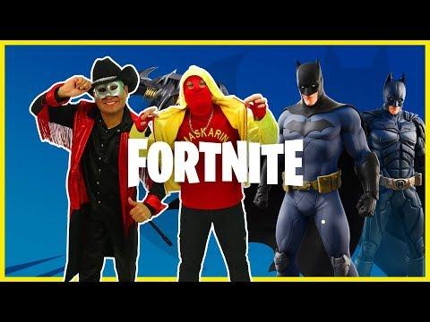 Manito Y Maskarin Juegan Fortnite CON BATMAN / FORTNITE X BATMAN