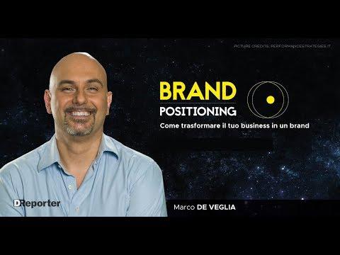 Marco De Veglia Esperto di Brand Positioning