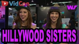 The Hillywood Sisters Throw a Vidcon 2013 Sleepover