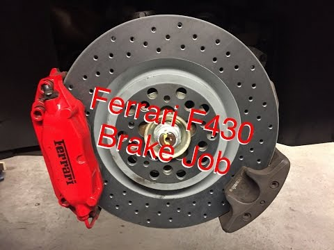 Ferrari F430 Brake Job