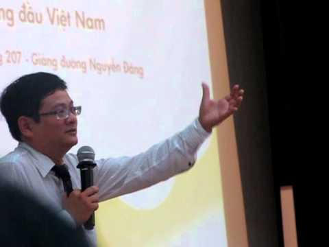 diễn giả hàng đầu Việt Nam - Quách Tuấn Khanh giao lưu vs sinh viên HUA