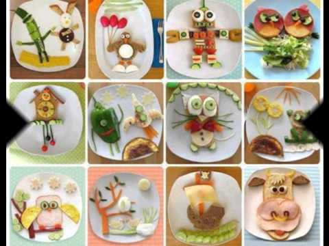 Decorative fruit plates and food plates & Decorative fruit plates and food plates - YouTube