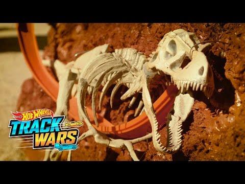 Rajd przez wykopaliska  Track Wars  Hot Wheels