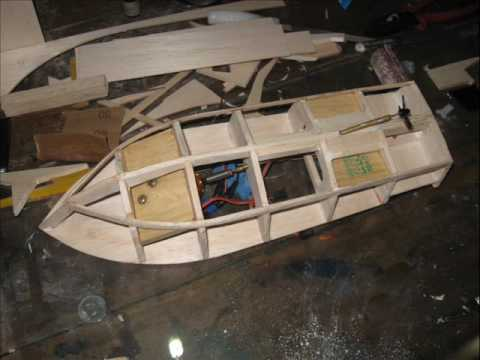 Model Boat building - YouTube