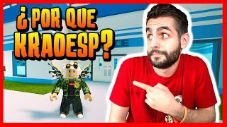 WHY DO I CALL MYSELF KRAOESP? Q&A at JAILBREAK - ROBLOX