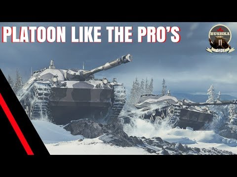 SECRETS TO GREAT PLATOON PLAY WORLD OF TANKS BLITZ