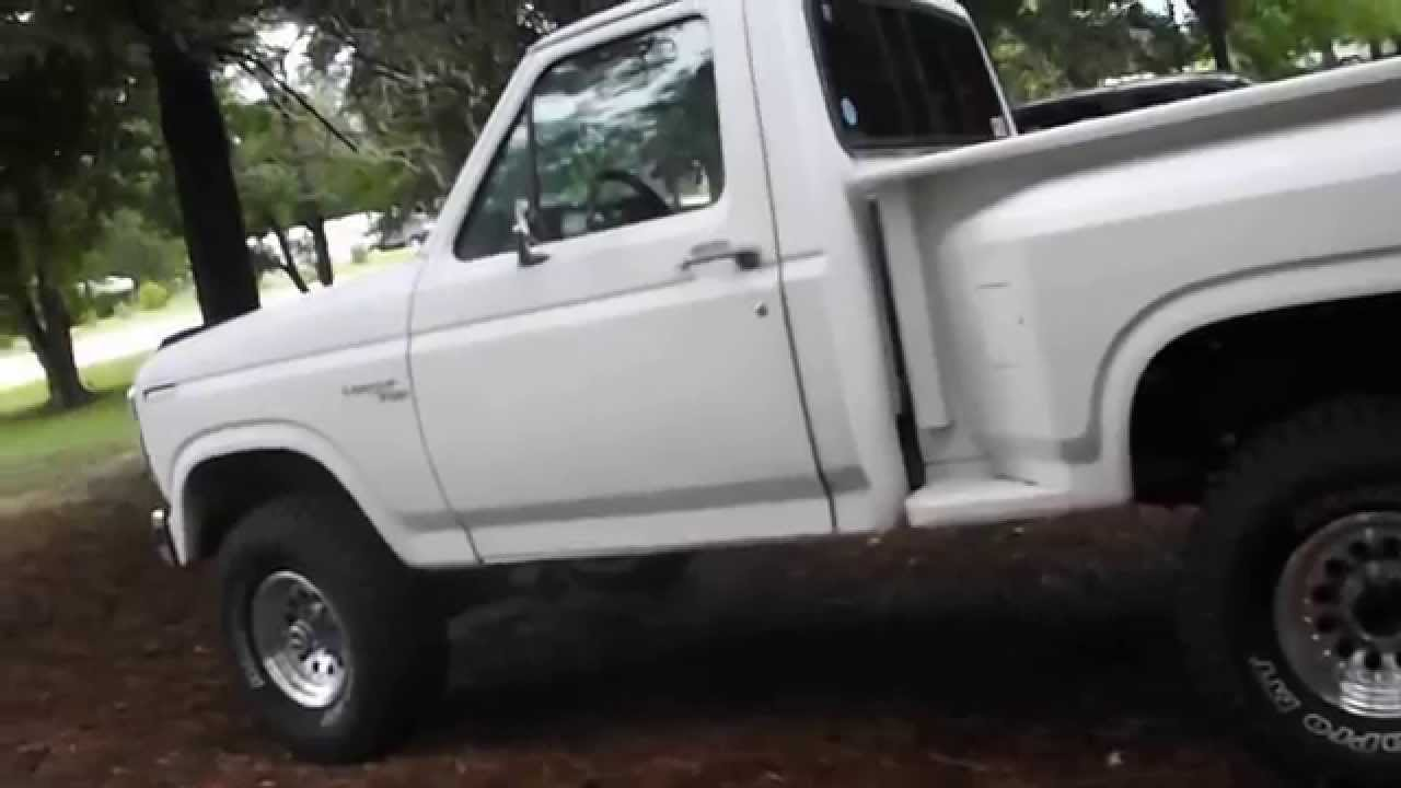 1980 ford ranger 4x4 f150 video walk around and start up doovi. Black Bedroom Furniture Sets. Home Design Ideas