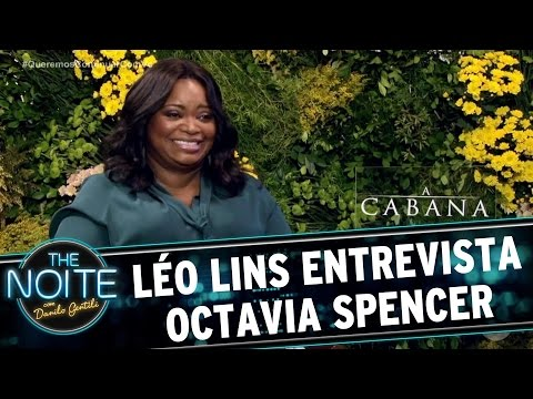 Léo Lins entrevista Octavia Spencer | The Noite (04/04/17)