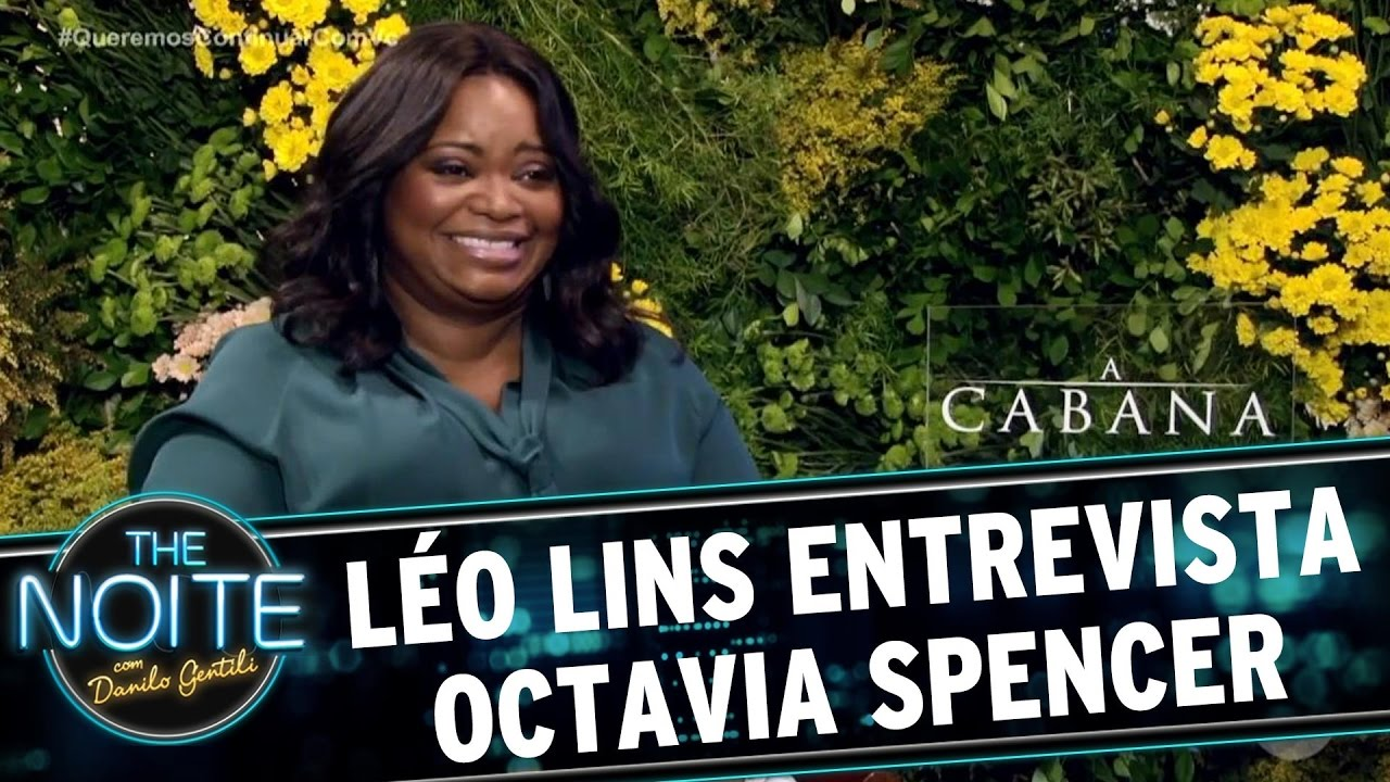 Léo Lins Entrevista Octavia Spencer  The Noite (040417